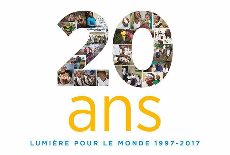 Célébrons les 20 ans de Lumière pour le Monde !