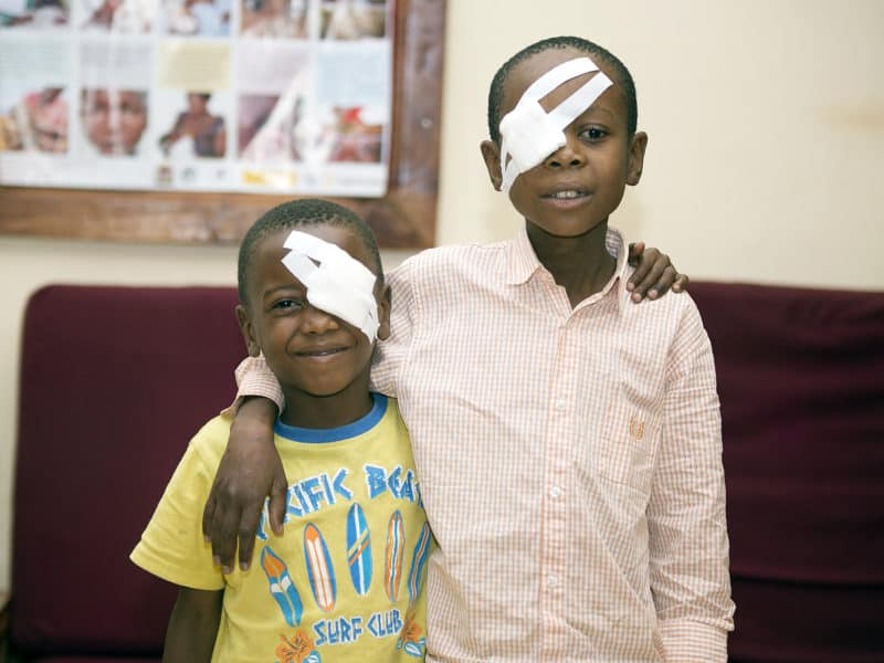 World Sight Day, des soins oculaires accessibles