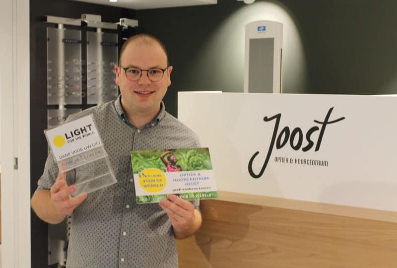 Optiek Joost is 'Opticien voor de Wereld'