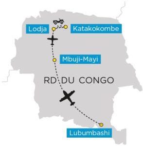 Carte du voyage