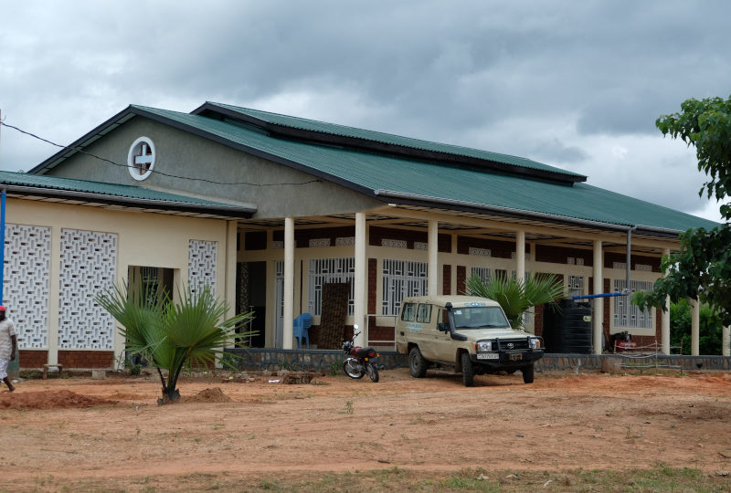 Vandersanden steunt bouw in Mbuji Mayi