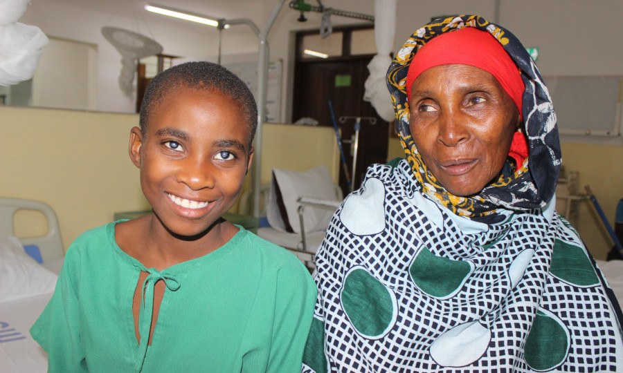 Fatuma et sa grand-mère