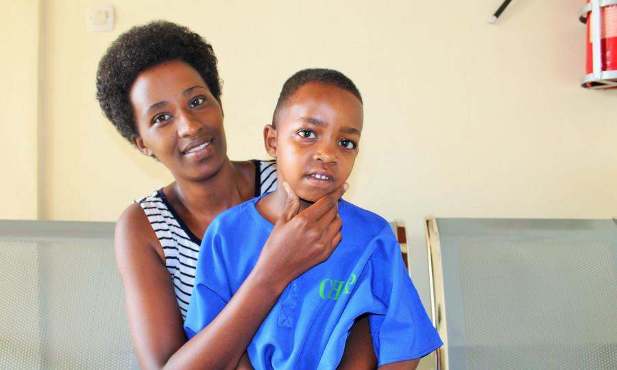 Hana en haar mama