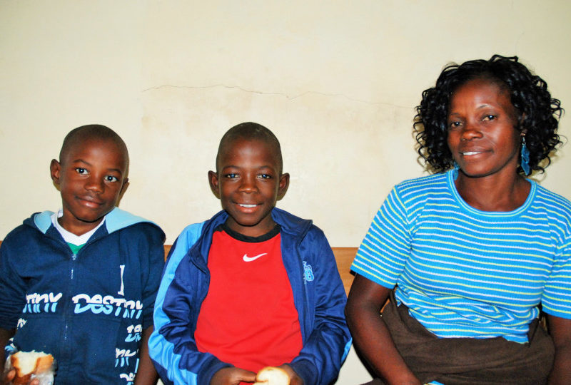 Deux jeunes frères de Lubumbashi