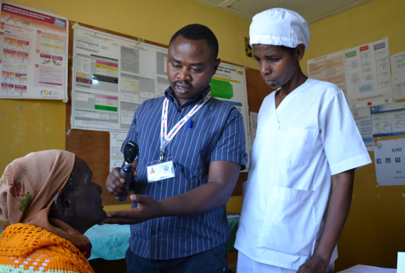 Oogzorg in Rwanda