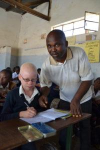 Frédéric et un élève