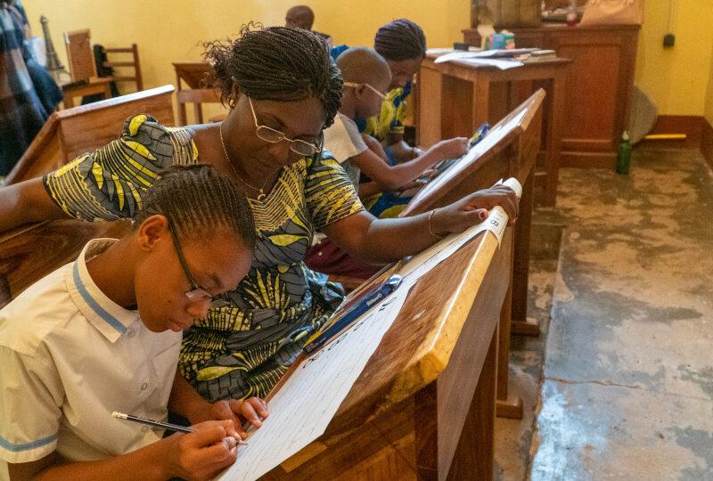 Pioniers in de Congolese oogheelkunde