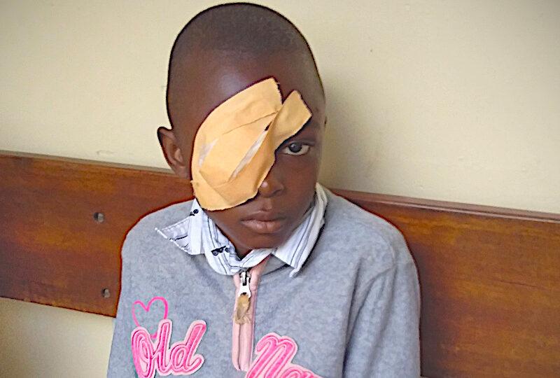 Jirani a retrouvé la vue de l'œil droit !