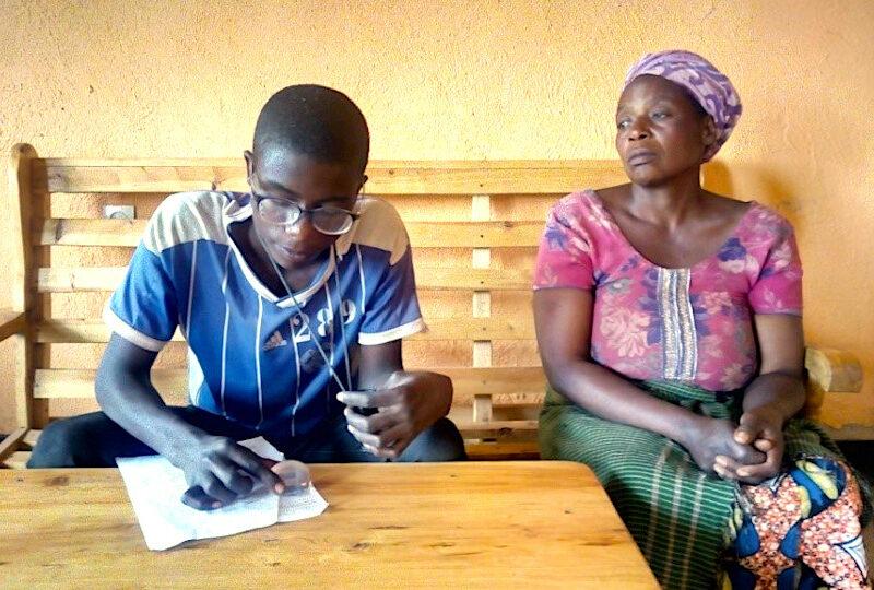 Emmanuel peut poursuivre sa scolarité !