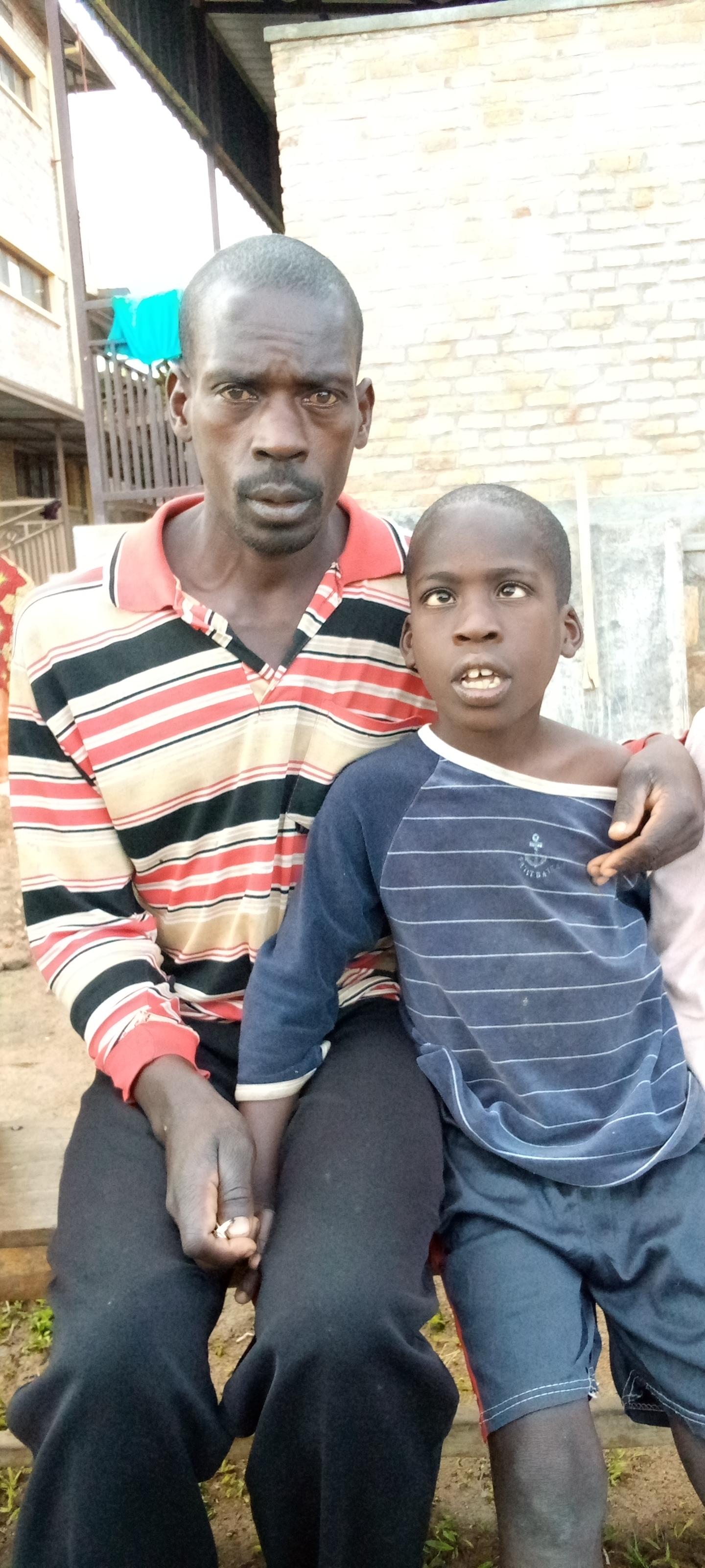 Olivier et son père