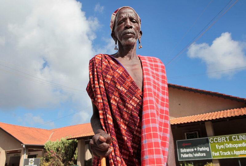 Grootvader Mapunda wil zijn kleinkinderen zien