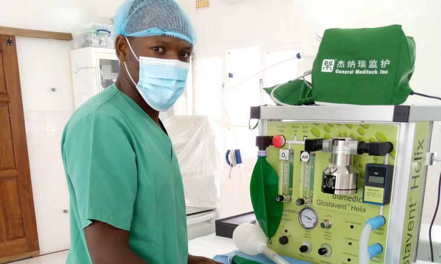 Anesthesie, Mwangaza