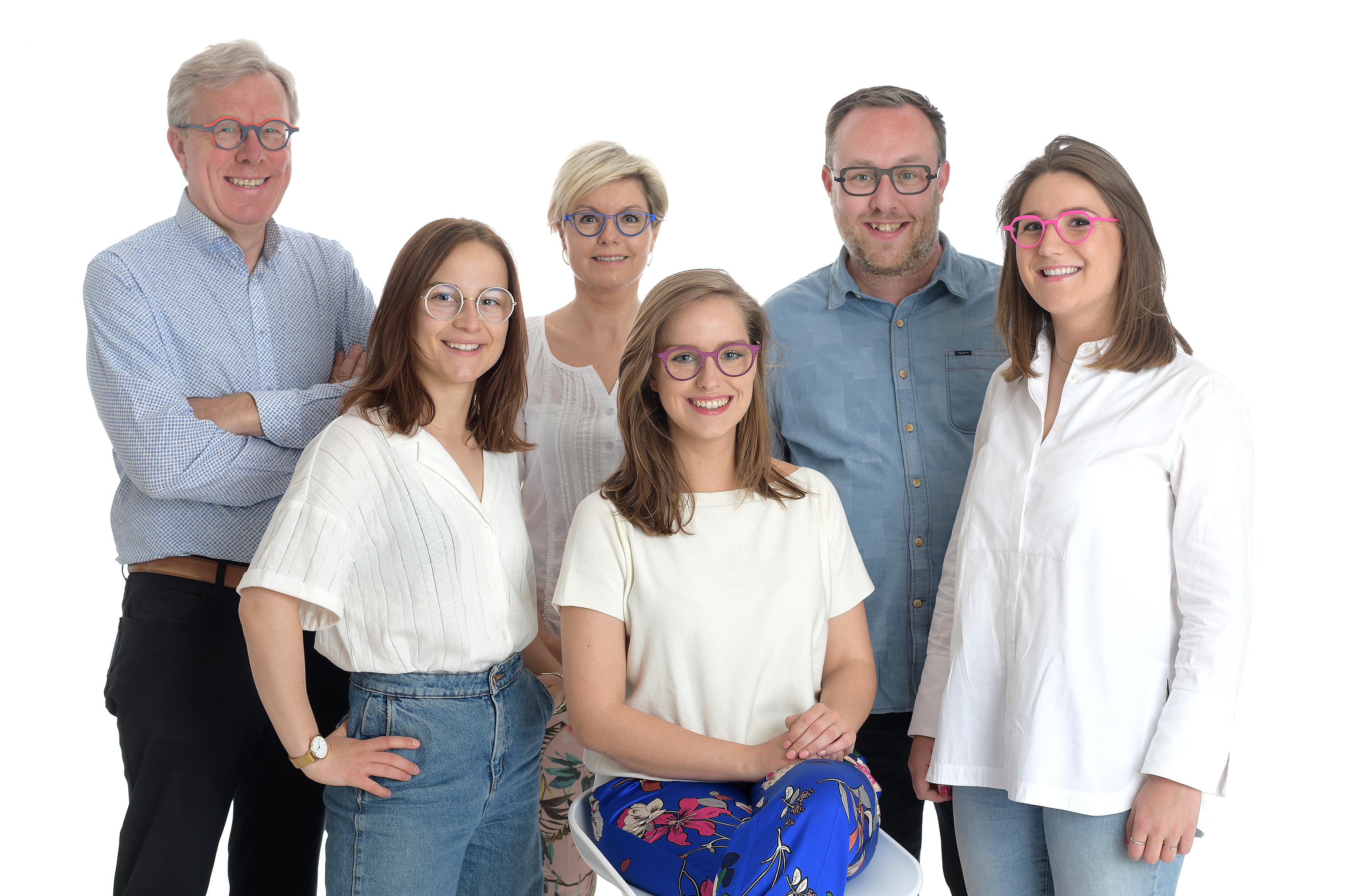 Foto door het team van Optiek Vererfven.