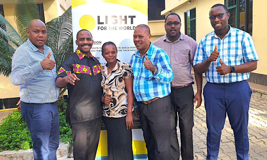 Light for the World Tanzania team